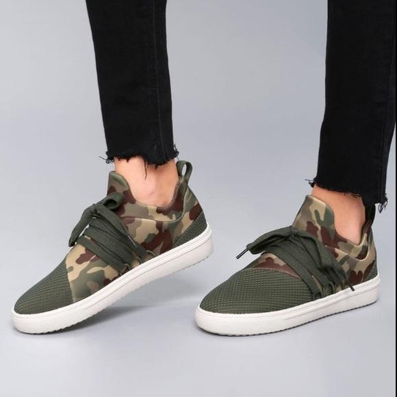 Camo Lancer Fashion Sneaker | Poshmark